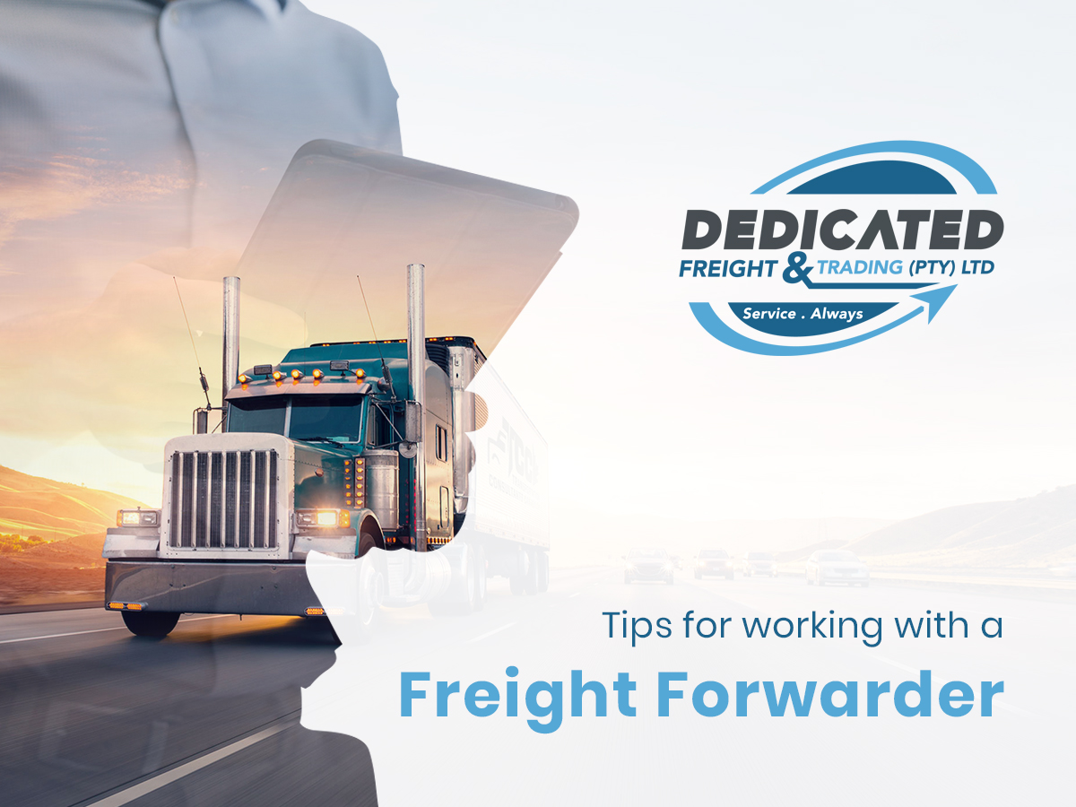 working with a freight forwarder