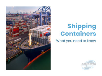 what to know about shipping containers