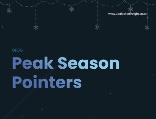 Peak Season Pointers