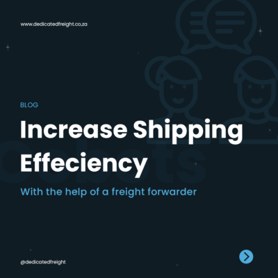 Increase Shipping Efficiency banner